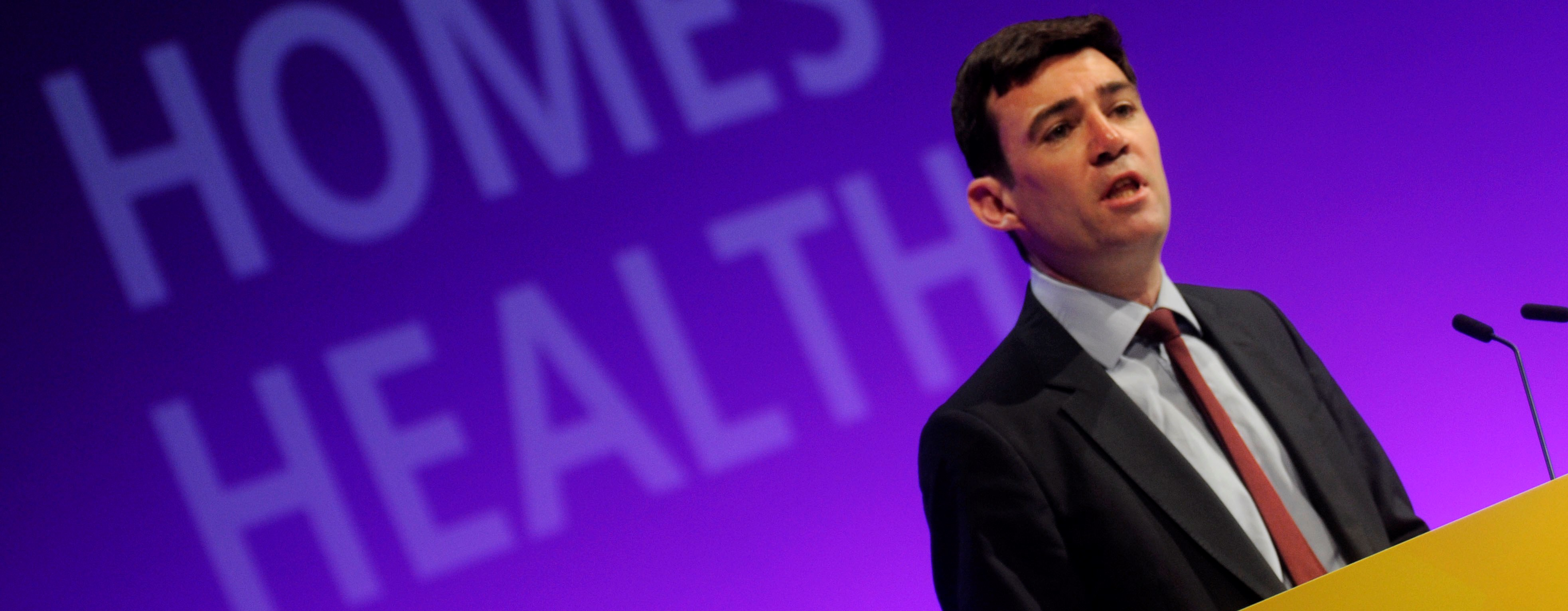 Burnham calls for privatisation end. Stop NHS privatisation call backed by Unite