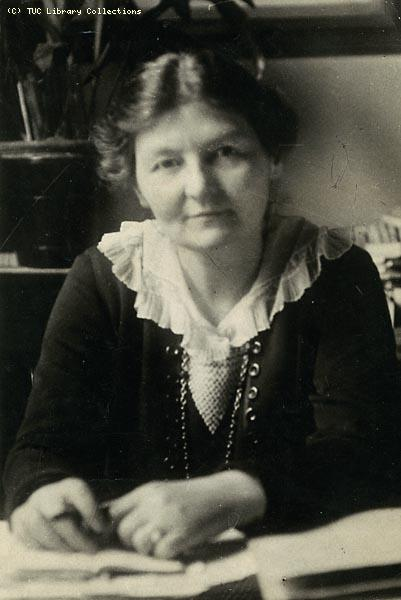 Labour MP and former trade union leader Margaret Bondfield served in the first Labour government. She later became minister of labour – the first woman cabinet member ever. From TUC Library Collections