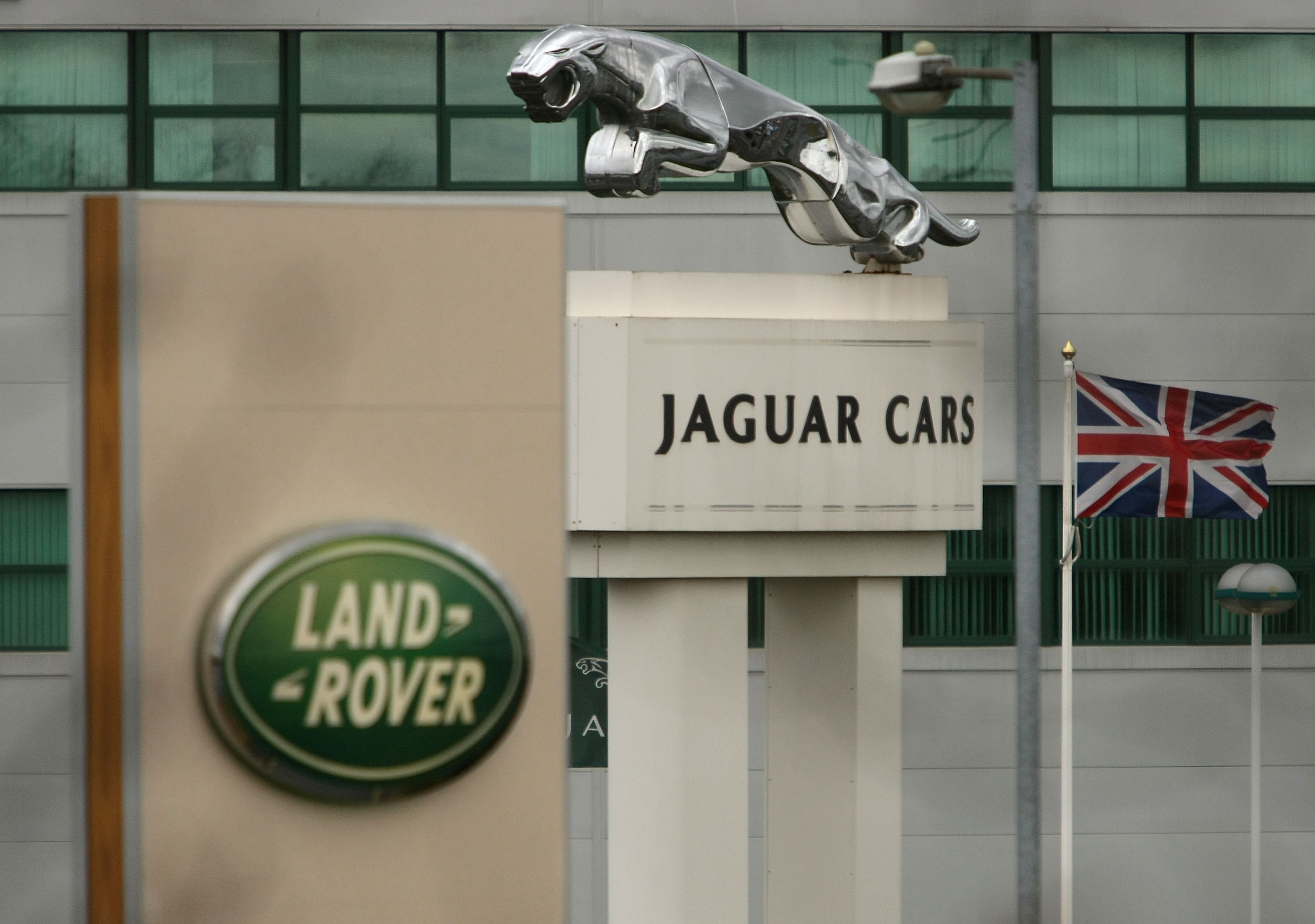 LIVERPOOL, UNITED KINGDOM - MARCH 26:  The Halewood operations site of Jaguar and Land Rover in Merseyside, Liverpool, England on 18 March, 2008. Parent owner Ford is due to announce today that it is selling off the two luxury brands to Indian car manufacturer Tata Motors in a deal speculated to be worth in the region of GBP 1 billion. (Photo by Christopher Furlong/Getty Images)