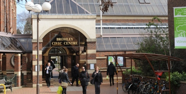 Bromley civic centre crop