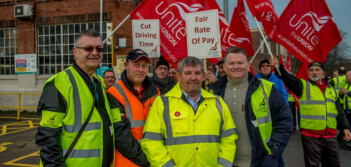 West Yorkshire and North Riding bus drivers strike over pay and working time.