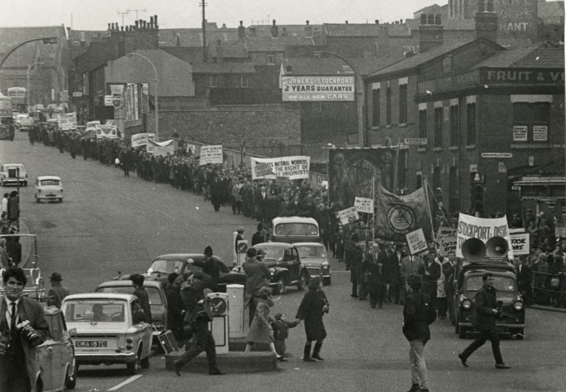 stockport-strike