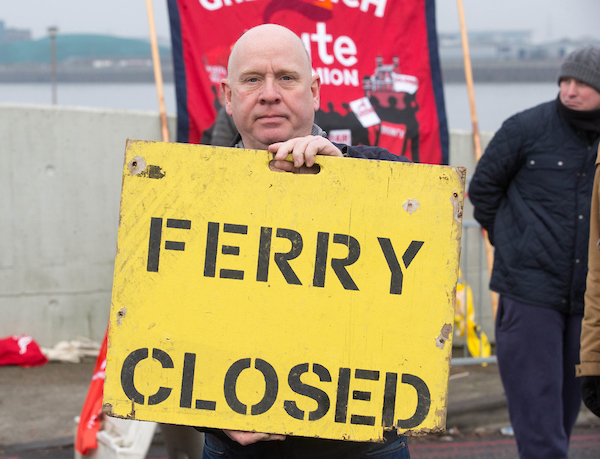 Barry Smith-Plumber woolwich ferry