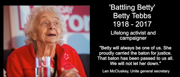 Betty Tebbs Video