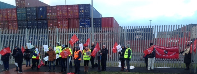 liverpool dock protest