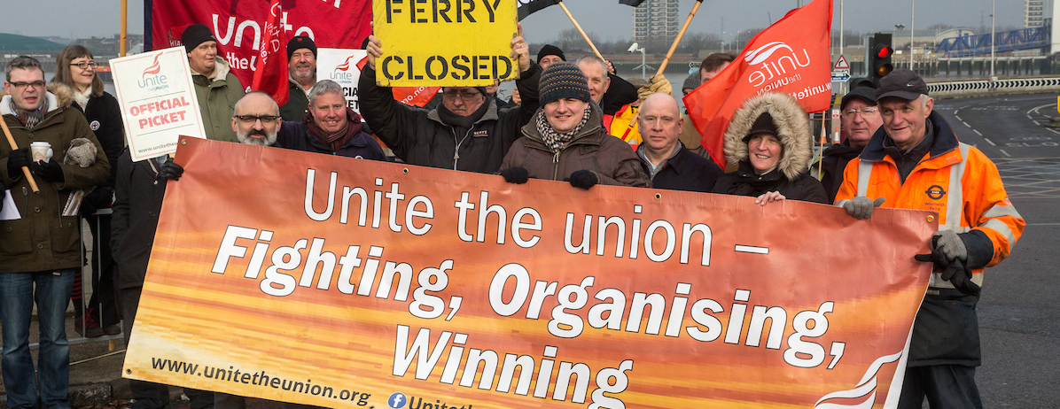 woolwich ferry strike