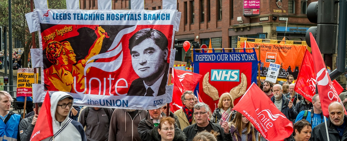 Yorkshire March for the NHS, Leeds
