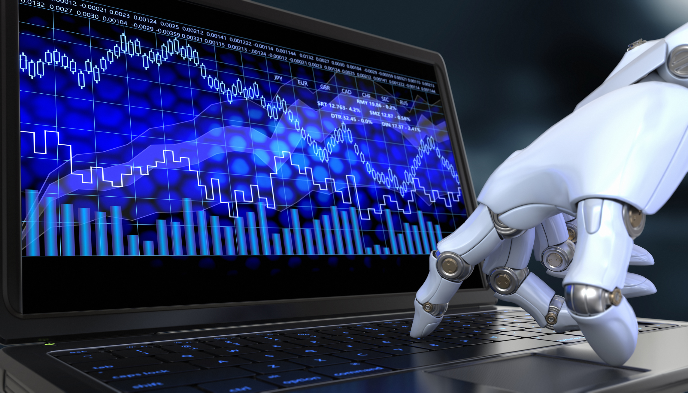 Exchange trade robot. Automated trading system is a computer trading program.
