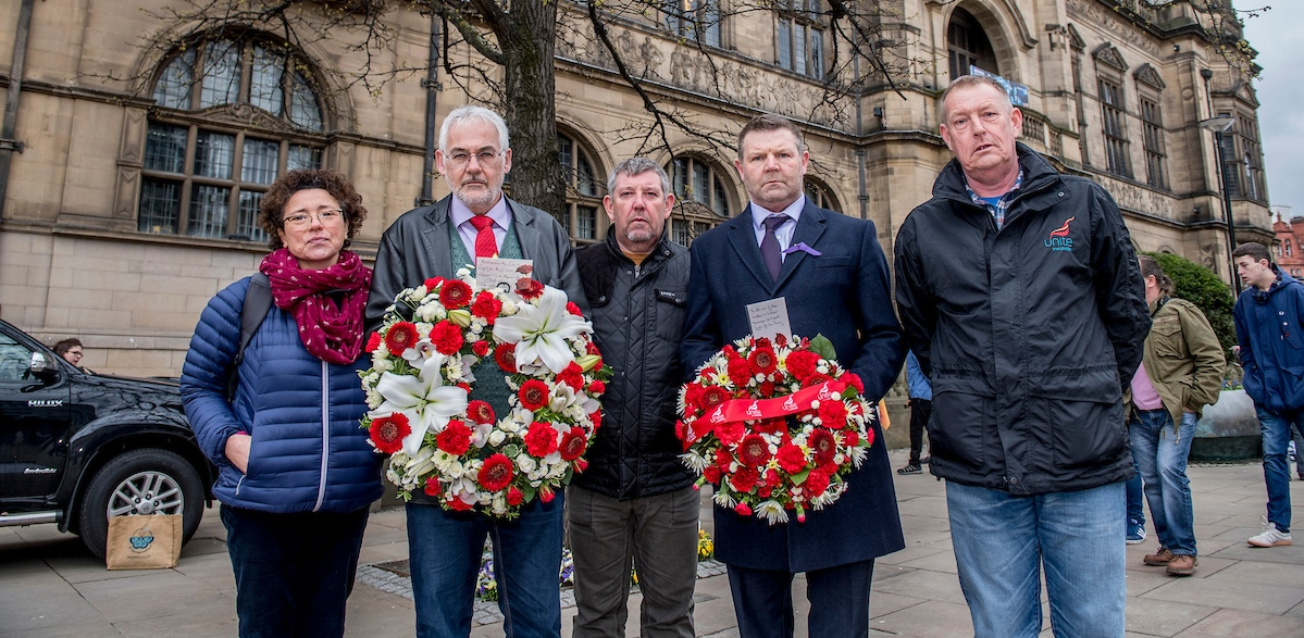 International Workers Memorial Day Yorkshire