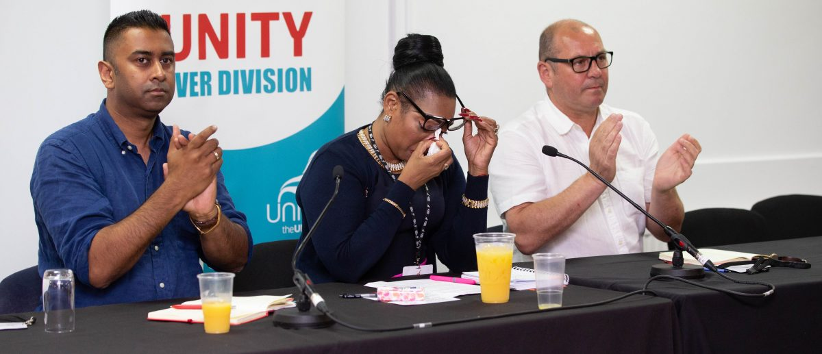 unity over division rules far-right