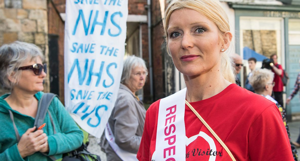 Nicola Robbins,  Unite Rep and Health Visitor